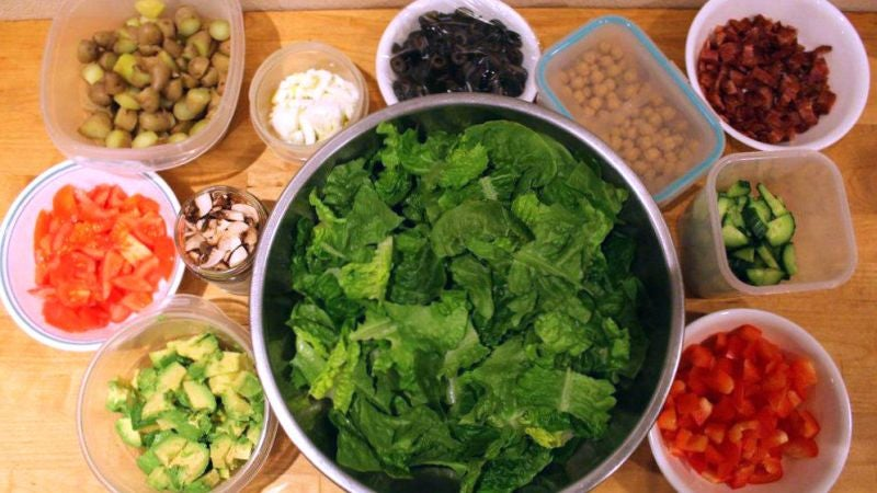 Give Yourself a Night Off Cooking with a Make-Ahead Salad Bar