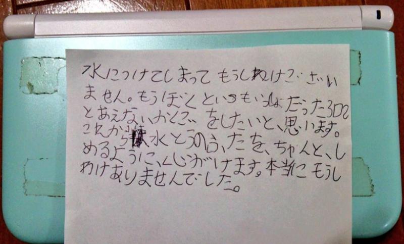 Eight-Year-Old Boy Apologizes to Nintendo