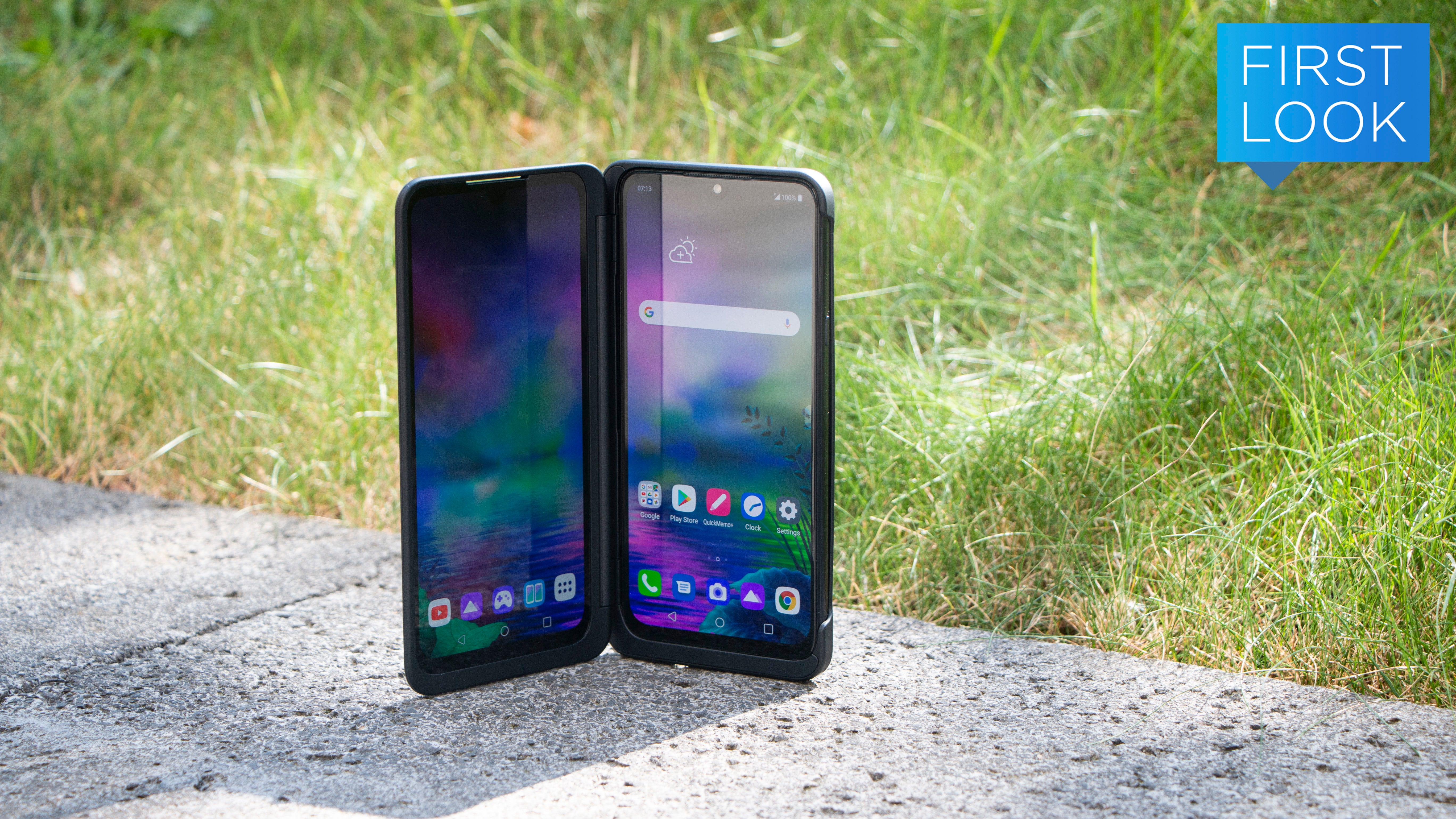 LG's New Dual-Screen Phone Is Like Two Phones In One!