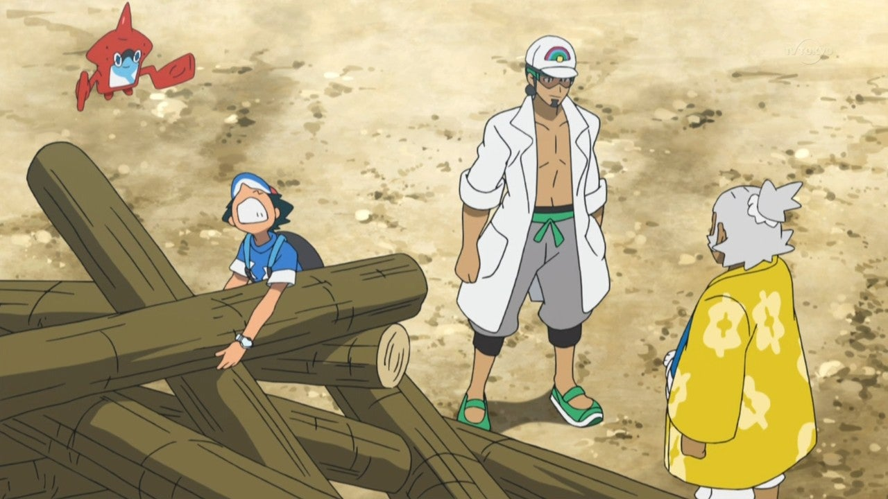 Ash In The New Pokemon Anime Is A Wimp