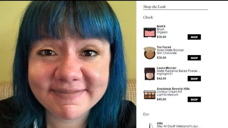 Sephora's Virtual Makeup Artist Made Me Hate Makeup And My Face