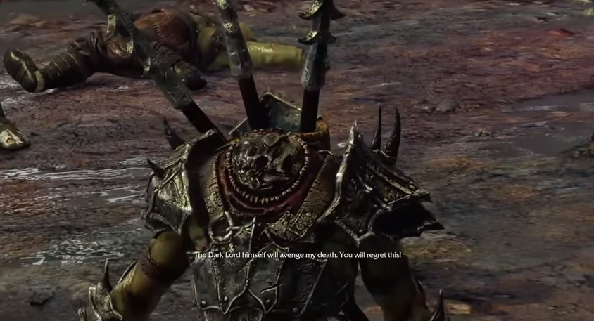 Even Beheading Isn't Enough To Get A Mordor Orc To Stop Talking