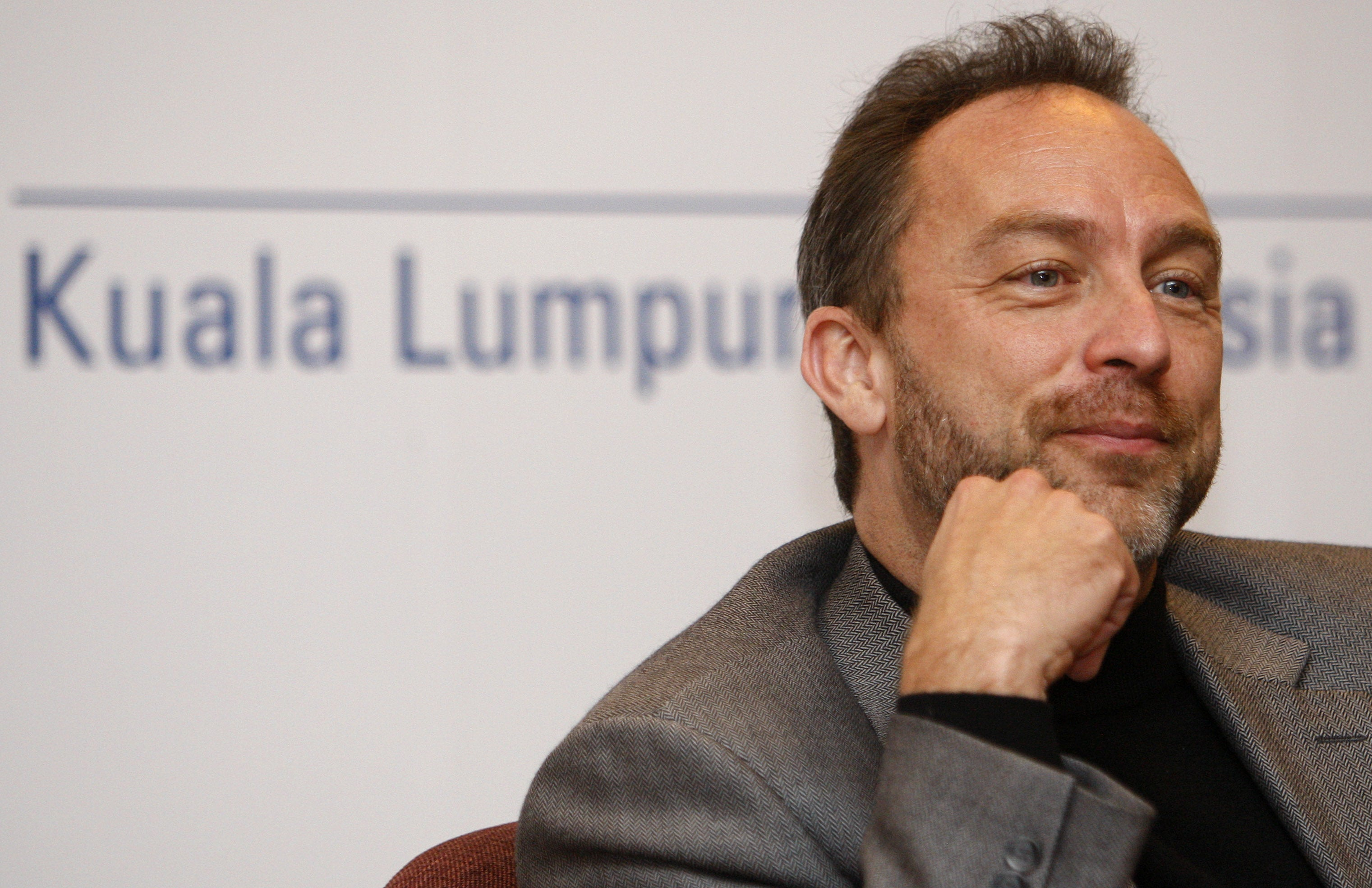 Jimmy Wales Got Censored at a Chinese Internet Conference