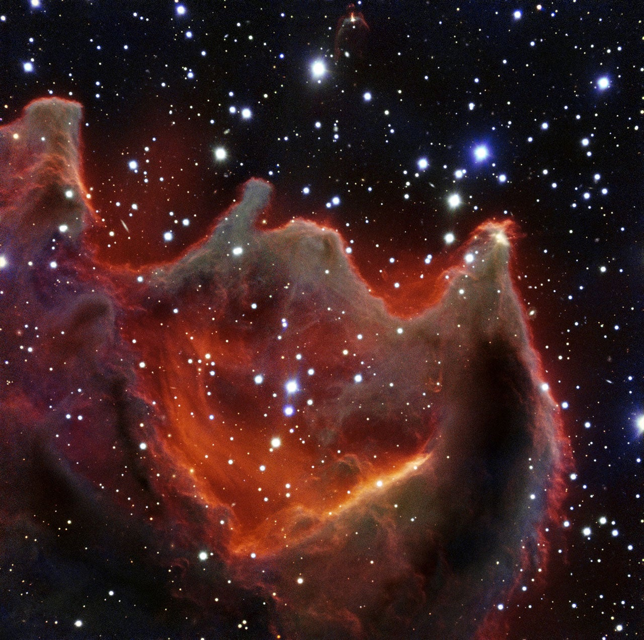 Beautiful new photo of the mysterious Mouth of the Beast nebula