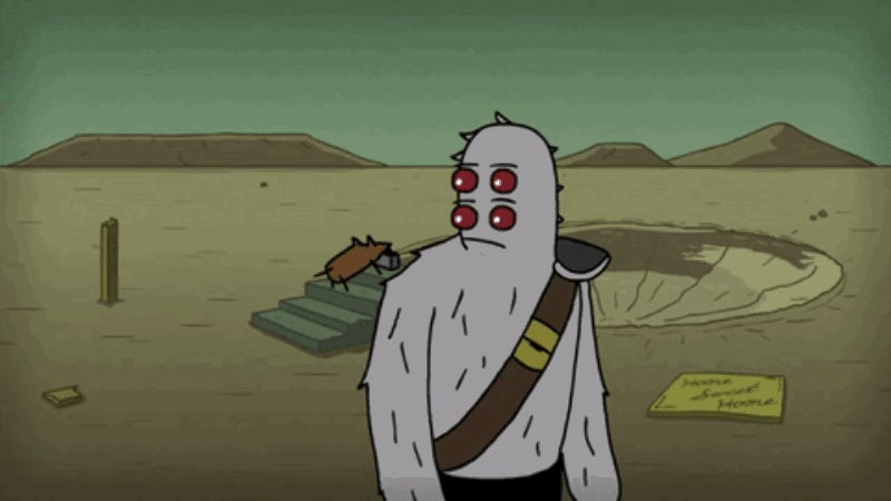 A Friendly Mutant Searches for Signs of Life in This Post-Apocalyptic Short Film