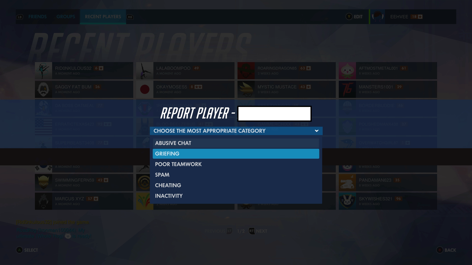 Overwatch Finally Gets A Reporting System For Consoles And