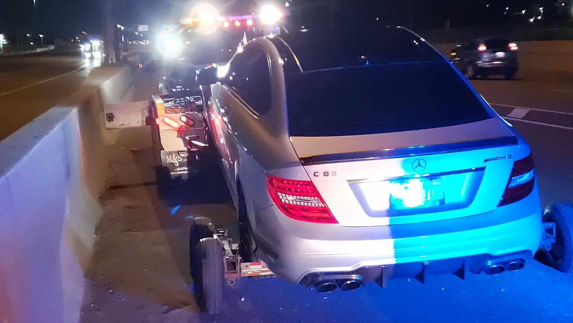 Canadian Police Officer Absolutely Baffled By Mercedes C63 AMG Clocked At 308 KM/H