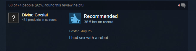 Fallout: New Vegas, As Told By Steam Reviews