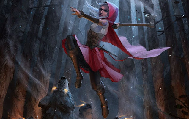 This Is Why You Don't Give an Axe to Little Red Riding Hood