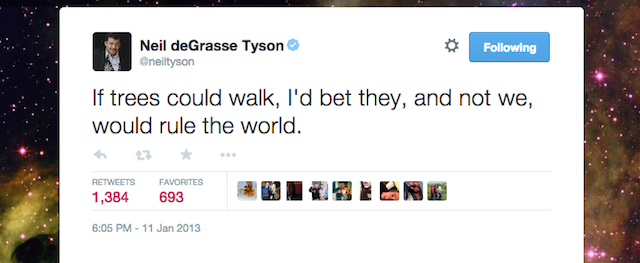 Tweets From Neil deGrasse Tyson's Freshman Dorm Room