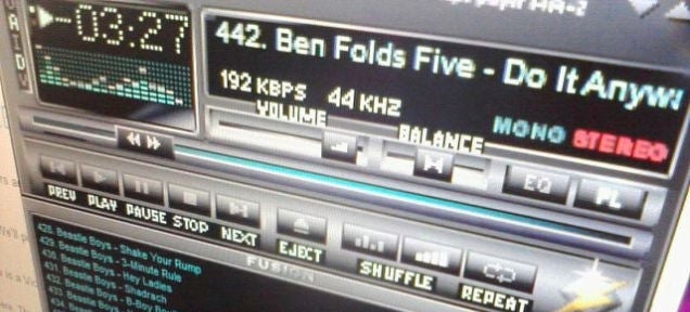 Winamp 2 Has Been Immortalised in HTML5 For Your Pleasure