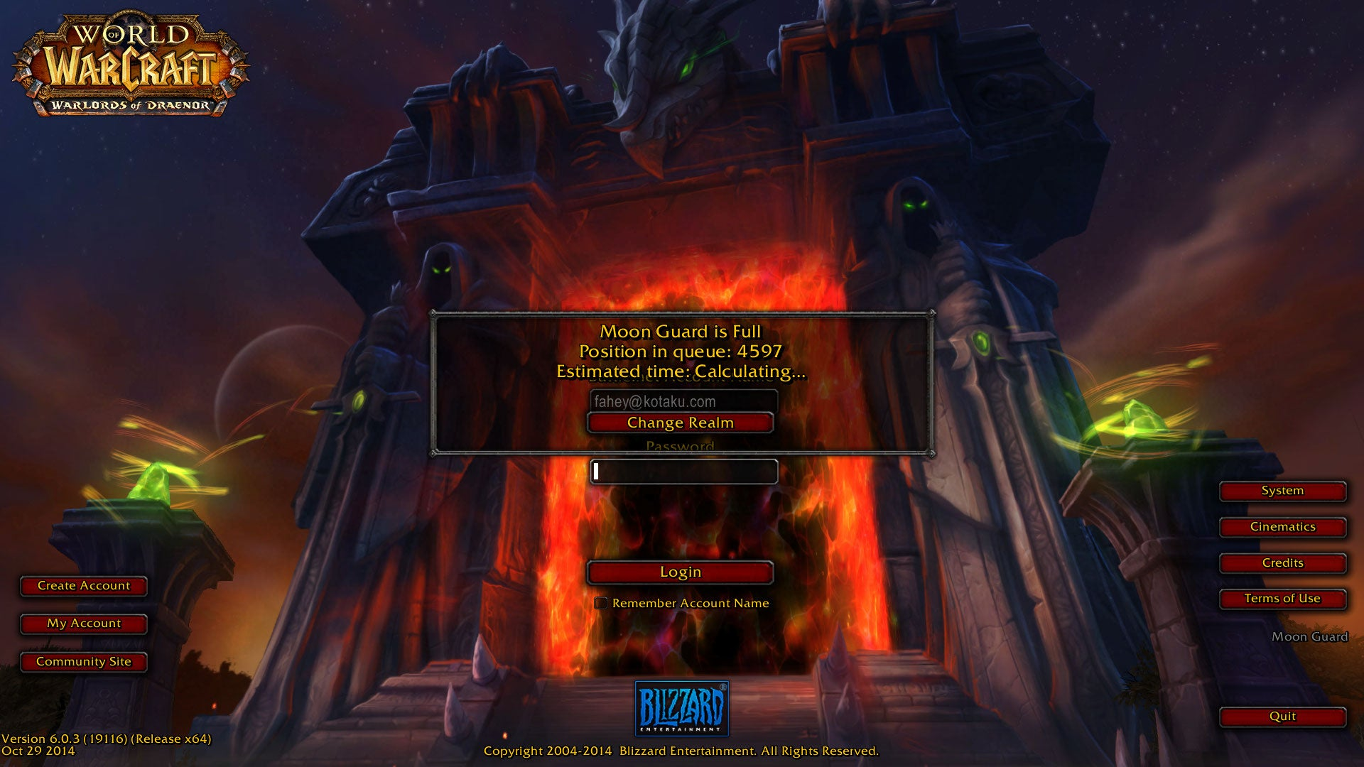 World Of Warcraft Subreddit Taken Down To Protest Login Problems