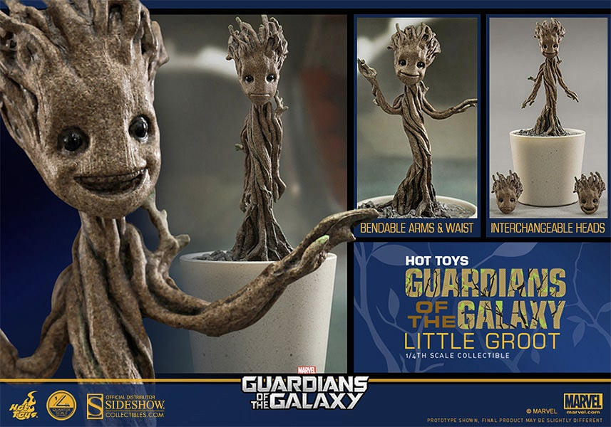 Hot Toys' Posable Little Groot Is All We Want For Christmas