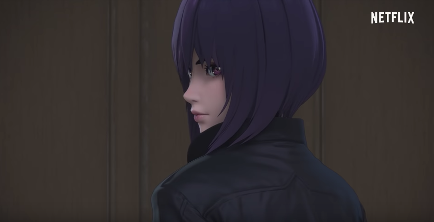 A Better Look At The New Ghost In The Shell 3D Anime