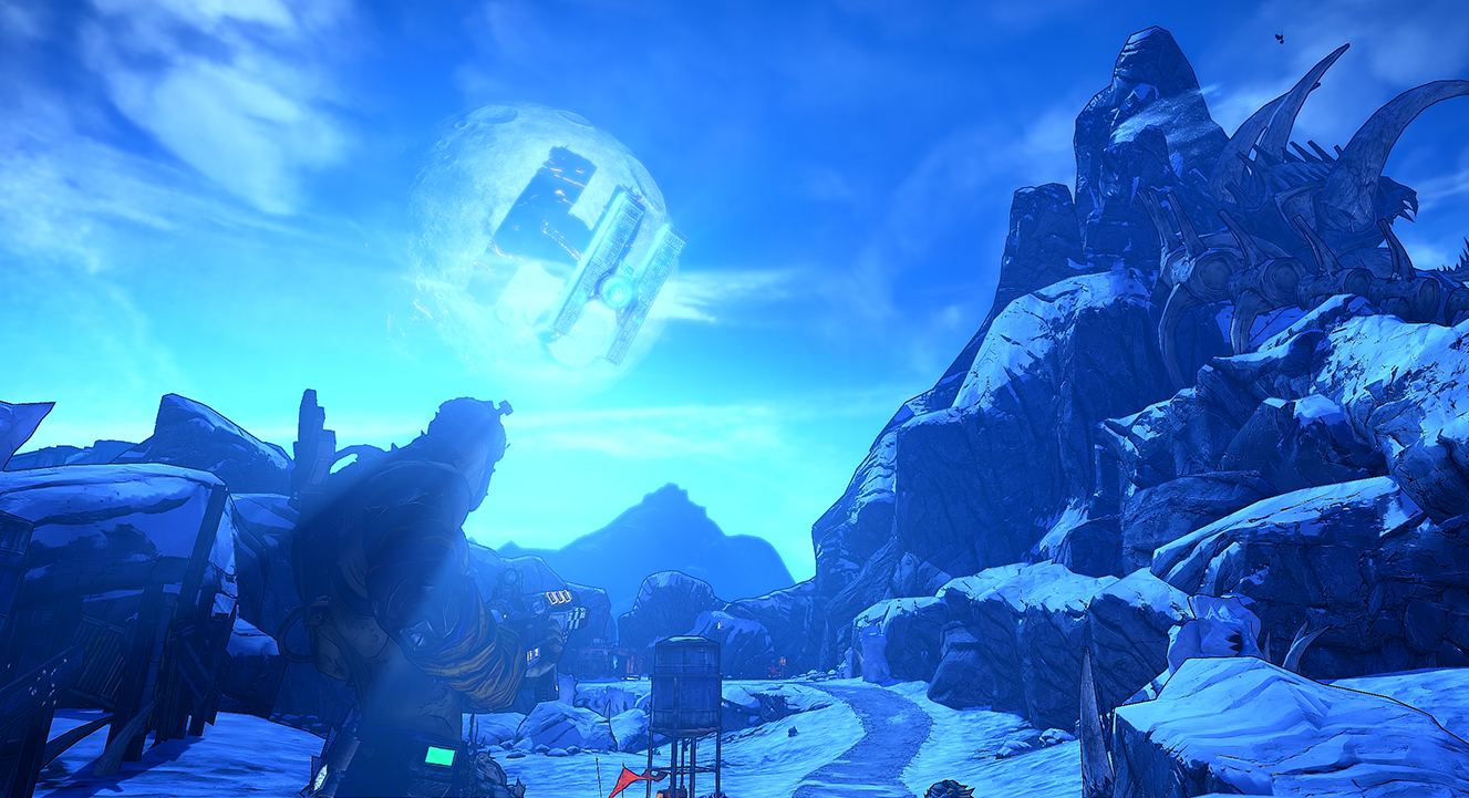 Borderlands 2's Opening Area Was Beautifully Sparse