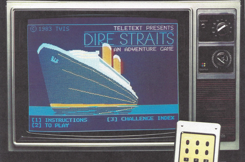 In 1982, People Were Streaming Games On Satellite
