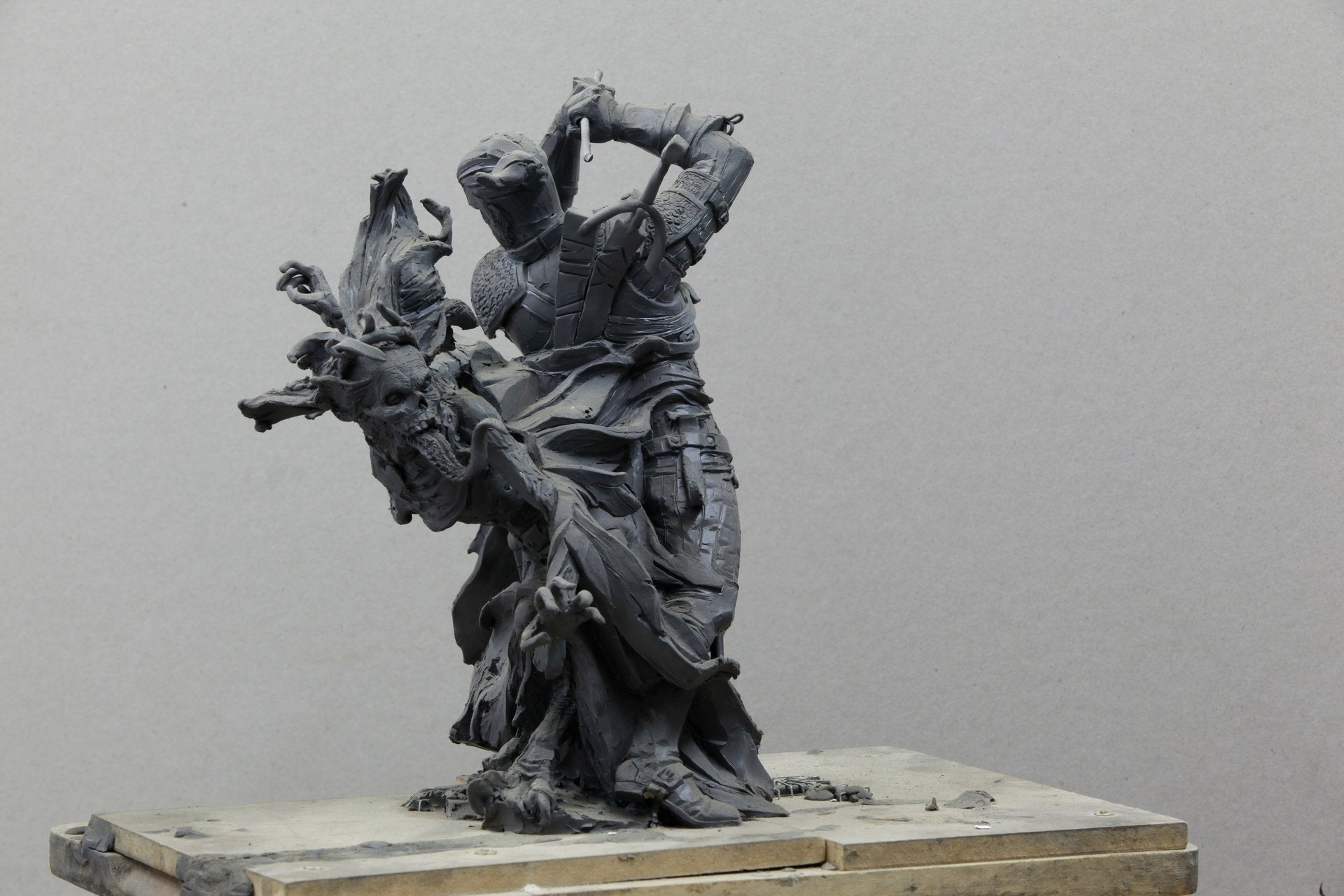 Giant Witcher 3 Sculpture Is As Handsome As Geralt