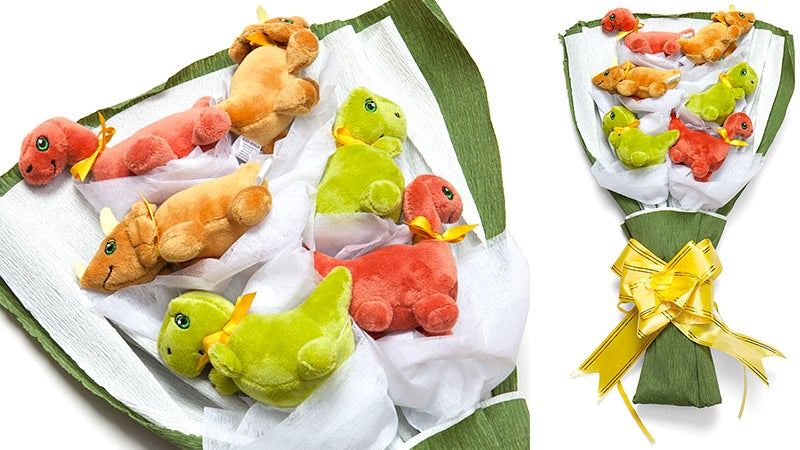 Nothing Says 'I Love You' This Valentine's Day Like a Bouquet of Dinosaurs