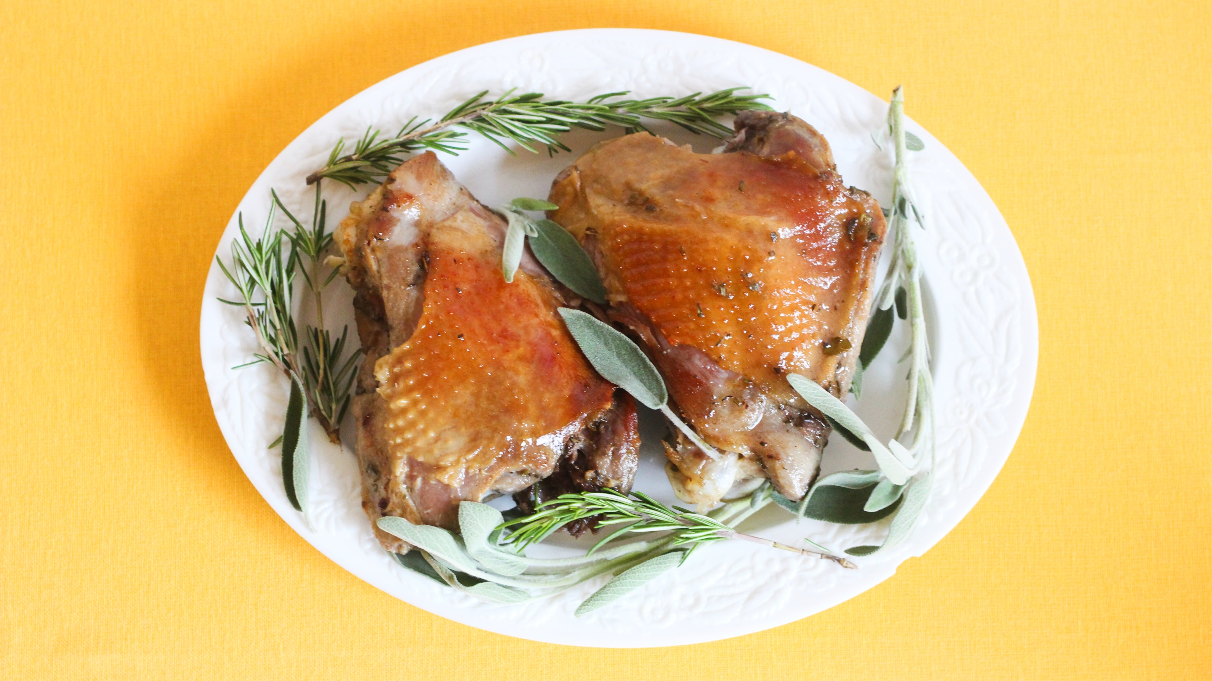 This Holidays, Confit Your Dark Meat