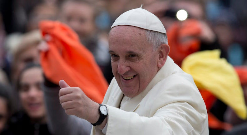 Bow Down Bitches: The Pope Is Getting Instagram