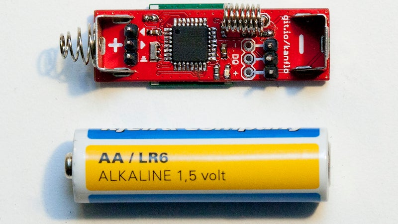 Build An Arduino the Size of a AA Battery
