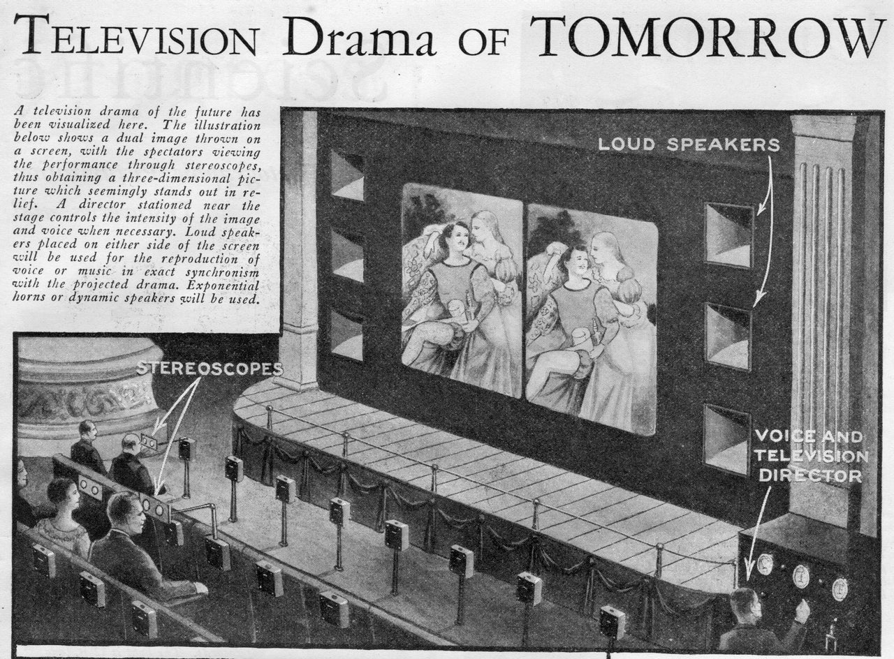 This Was The 3D TV Theatre Of The Future Before TV Even Existed