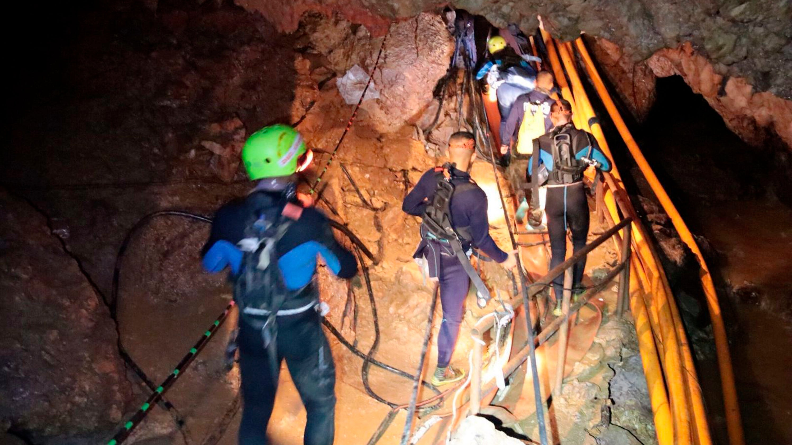 The Thai Cave Rescue Is Going Well So Far, With Four Boys Successfully Extracted