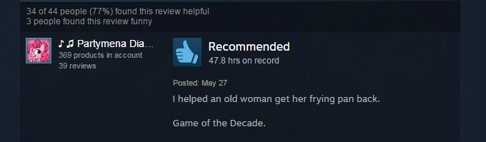 The Witcher 3, As Told By Steam Reviews