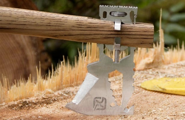 Turn Any Stick Into an Ax With This Multi-Tool Chopping Blade
