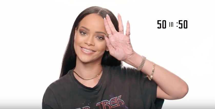 You And Rihanna Could Totally Geek Out About Star Trek