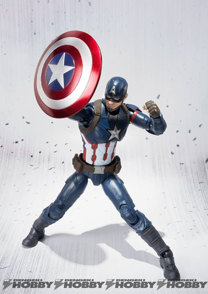 Captain America: Civil War Figuarts Will Fight For the Right to Empty Your Wallet