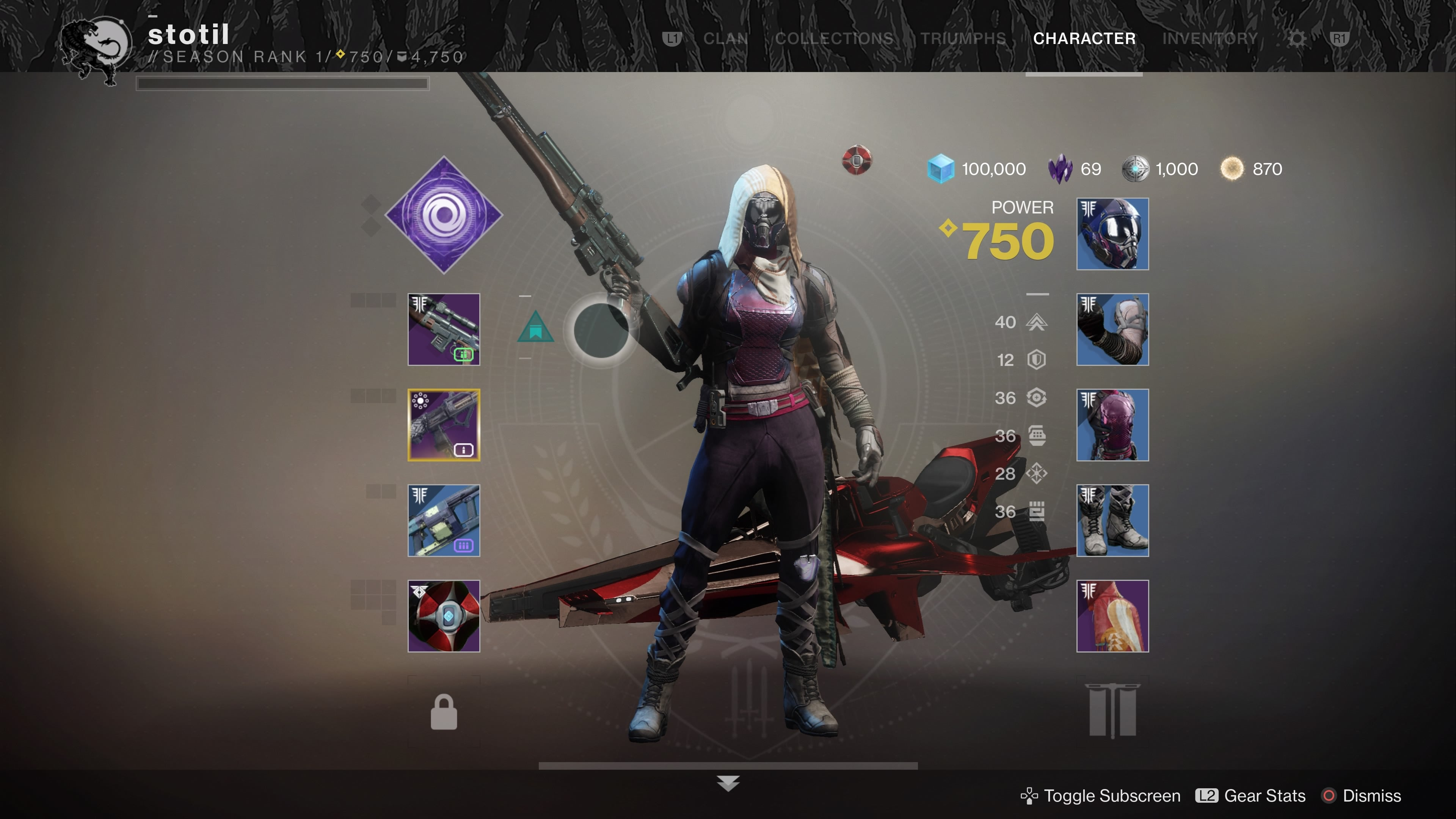 The Destiny 2 Patch Changes A Lot Of The Game's Most Familiar Menus