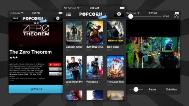 Popcorn Time Arrives on iOS, No Jailbreak Required
