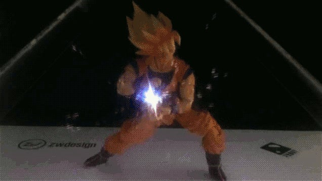 Dragon Ball Figures Are Cooler with Holograms