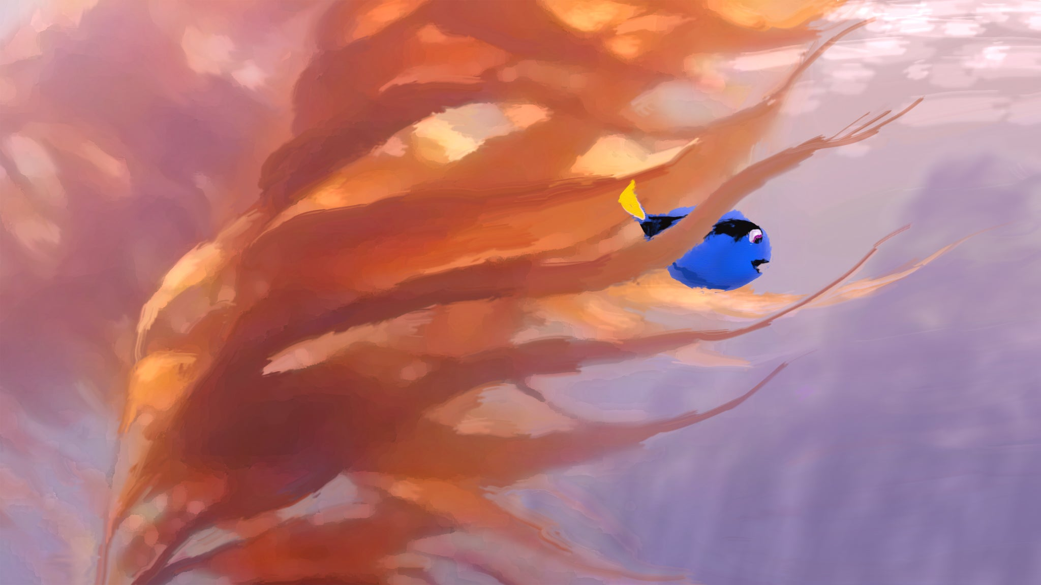 This Concept Art for Finding Dory Is Simply Beautiful