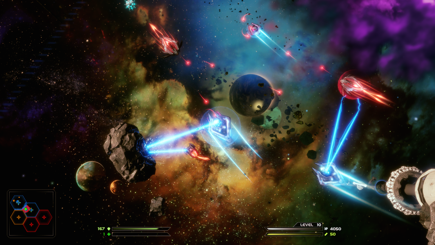 New PS4, PC Space Shooter Has Mode Where Your Team Invades Other People's Matches