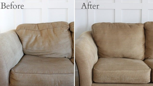 Revitalise Saggy Couch Cushions With Poly Fil And Quilt Batting