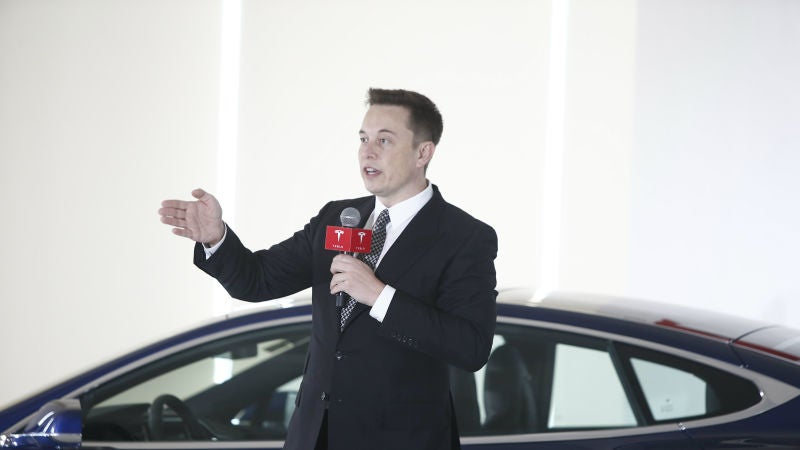 Elon Musk Blasts Critical Coverage Of Self-Driving Cars: 'You're Killing People'