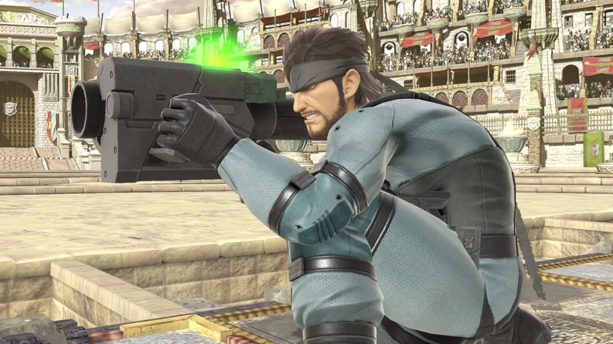 Fan-Made Smash Bros. Ultimate Level Features Dueling Snakes