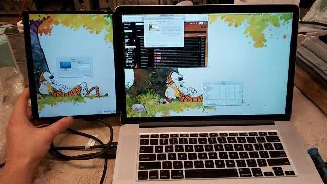 Turn an iPad's LCD Screen into an Extra Screen for Your Laptop