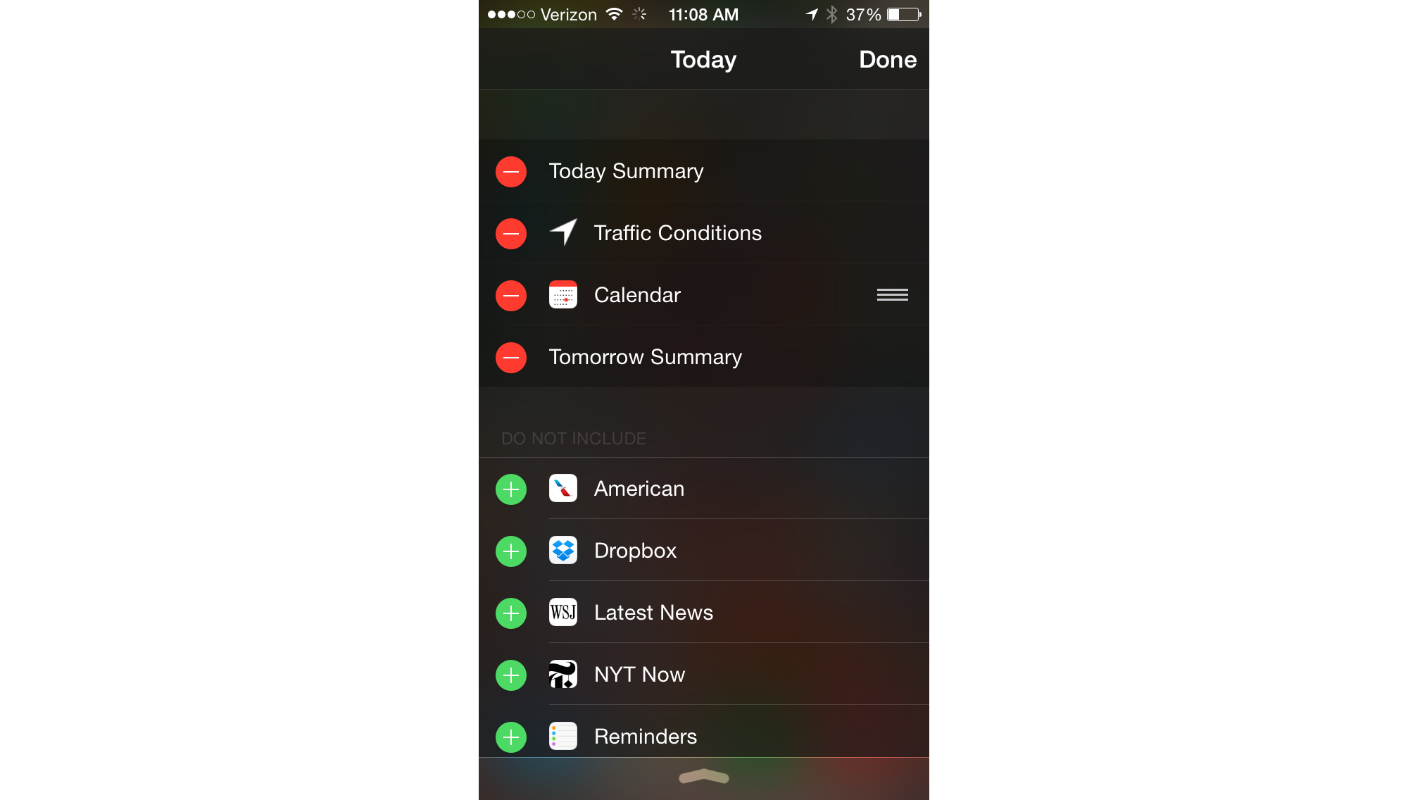 IOS 8 Has Widgets! Here's How to Use Them