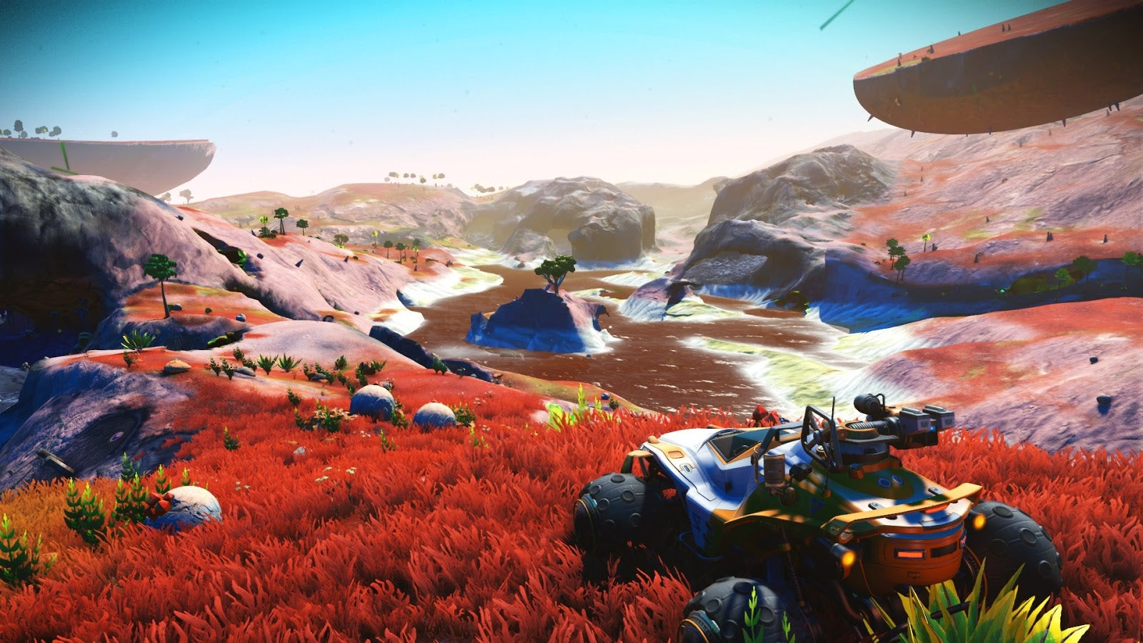 No Man S Sky Players Are Marveling At The Lush New Grass Kotaku