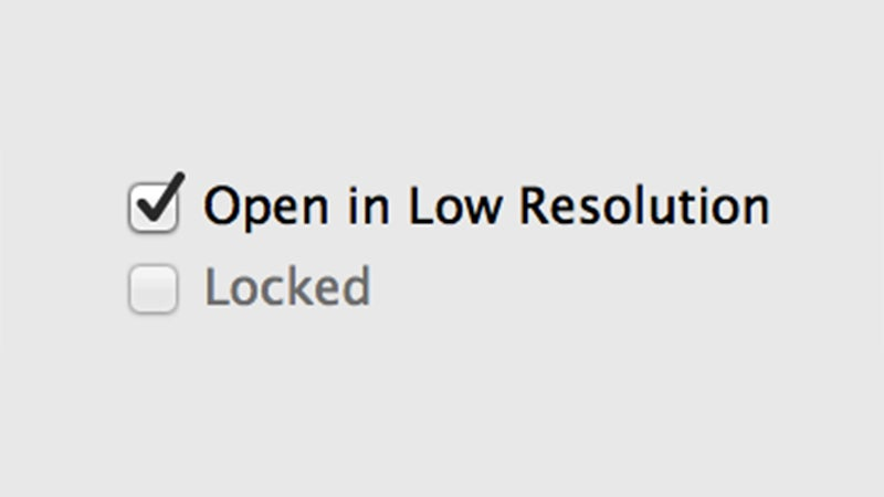 Use the Hidden 'Low Resolution' Option to Improve Game Performance on Retina Macs