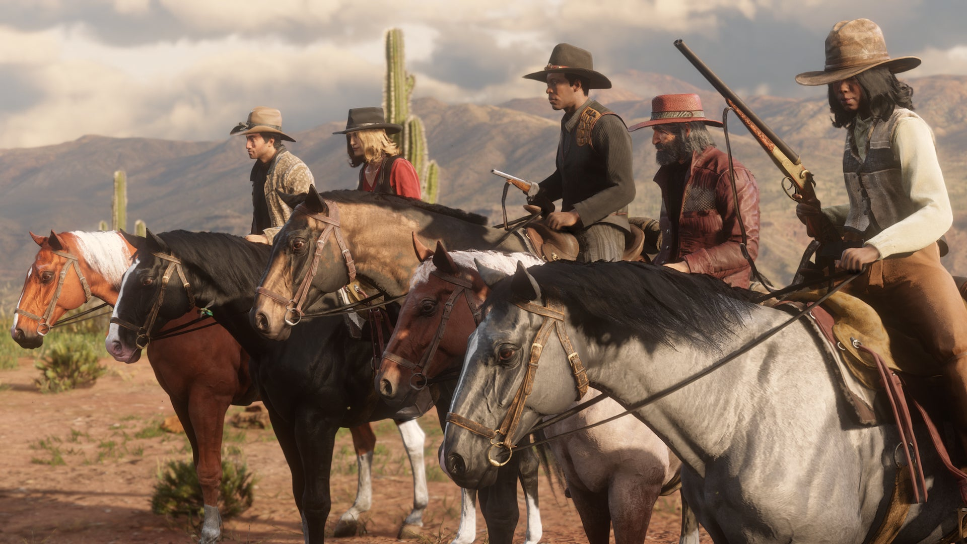 Red Dead Online's Next Update Will Combat Griefing, Rebalance Weapons