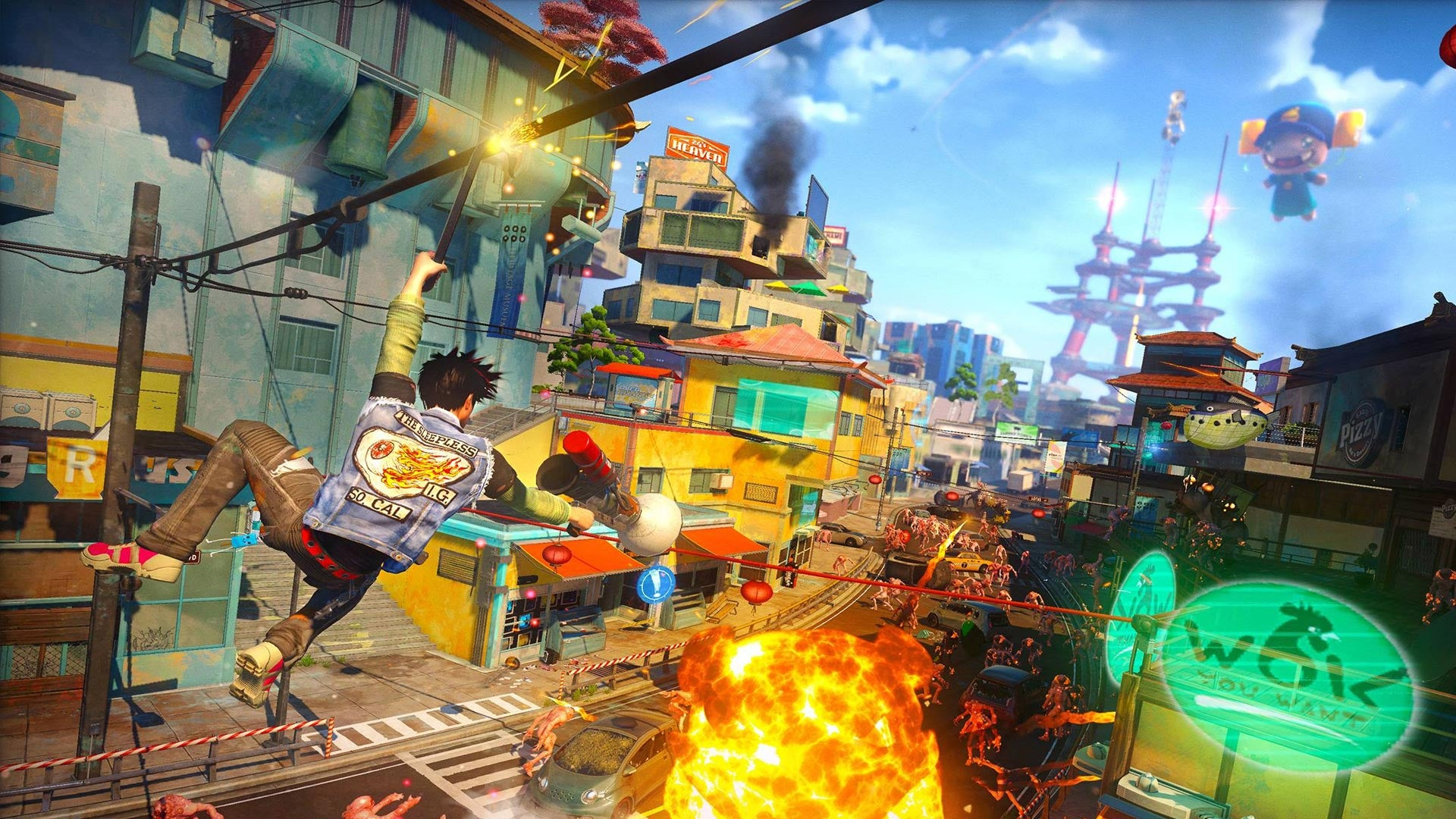 Sunset Overdrive, Dead Space Headline Xbox's Games With Gold For April