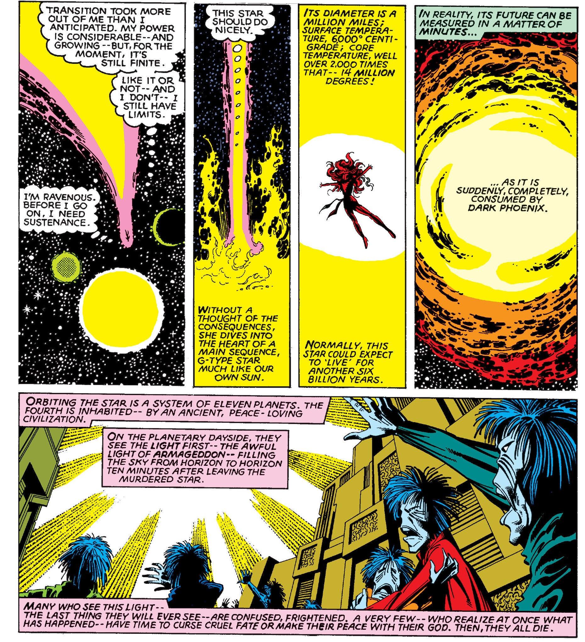 A Brief Explanation Of Dark Phoenixs Confusing Alien