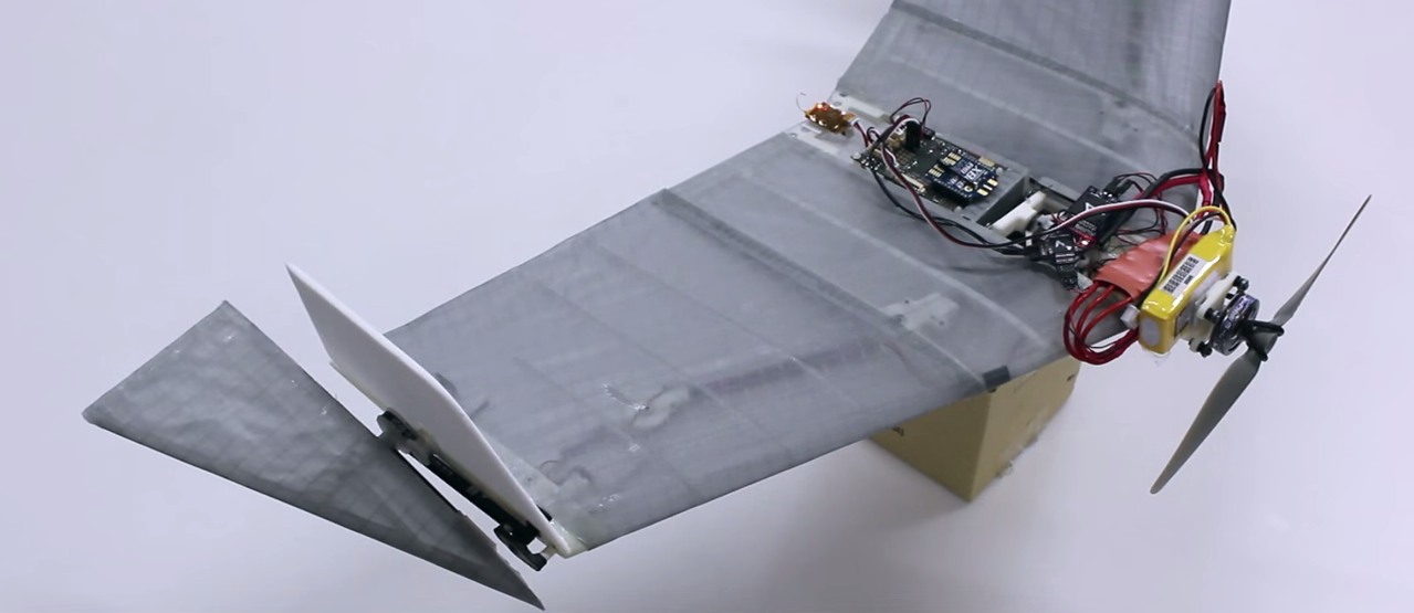 Mad Scientists in Switzerland Built a Drone That Flies and Walks