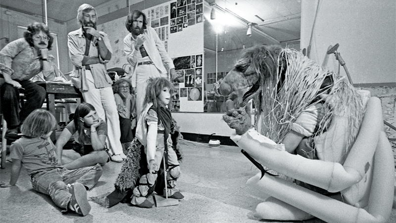 A Look Inside The Definitive Book On Bringing The Dark Crystal to Life