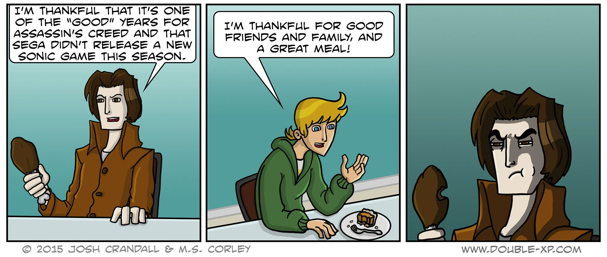 Sunday Comics: Thanksgiving Leftovers