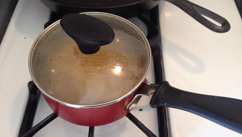 You Don't Need to Boil Your Pasta, Just the Water
